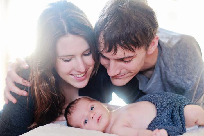 Od začátku se snažte, aby byl váš muž v co největší možné míře součástí vašeho těhotenství.